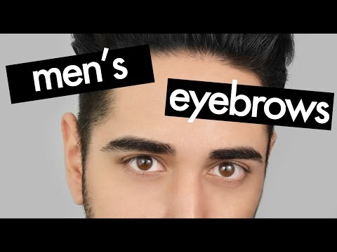 Eyebrow grooming for men - How to shape eyebrows ✖ James Welsh