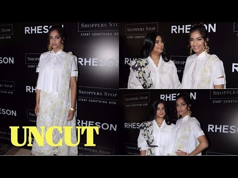 UNCUT: Sonam Kapoor & Rhea Kapoor At Press Showcase Of Their High Street Brand RHESON