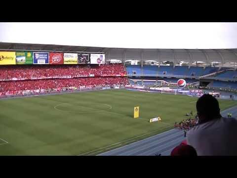 Recibimiento de América vs quindio [ascenso] - Baron Rojo Sur - América de Cáli - Colombia - América del Sur