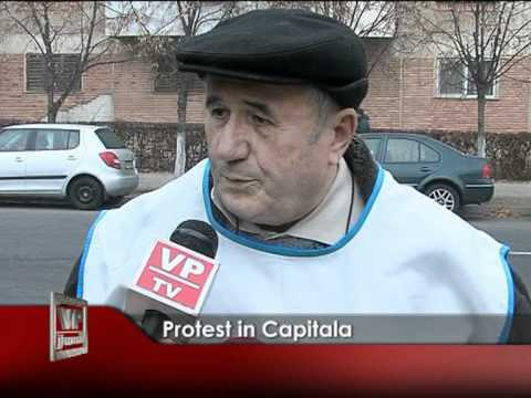 Protest in capitala