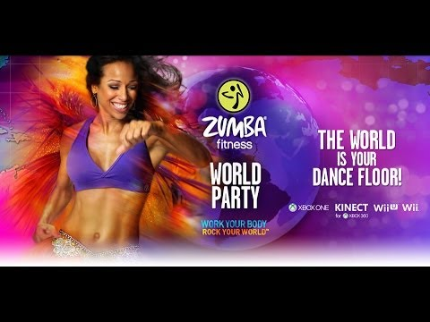 zumba fitness world party wii uk