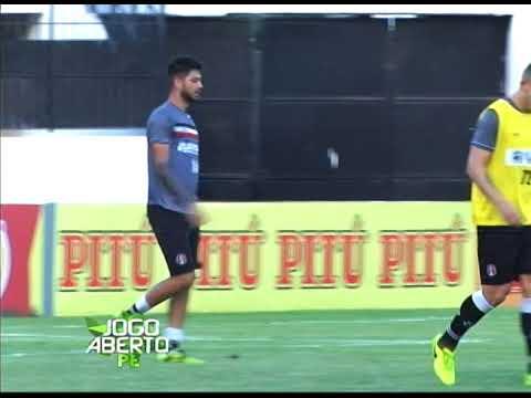 [JOGO ABERTO PE] Santa Cruz: Júnior Rocha mexe em quatro setores do time
