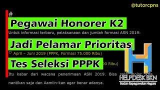 Download Video Pegawai Honorer K2 Jadi Pelamar Prioritas Tes Seleksi PPPK MP3 3GP MP4