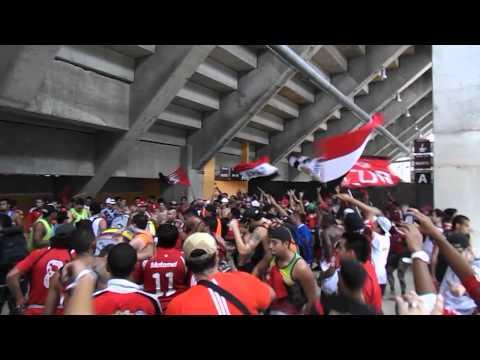 Previa Barra del Caracas vs Lara, apertura 2013 - Los Demonios Rojos - Caracas