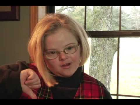 Watch video Down Syndrome: Self-Advocate Audrey Wagnon