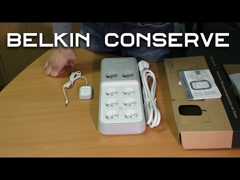 Розпаковка Belkin Conserve 2 м 8 розеток (CNS08deT-2M)