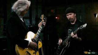 Jimmy Page, The Edge & Jack White -  In My Time Of Dying (It Might Get Loud)