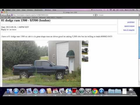 Craigslist Youngstown Ohio Used Cars And Trucks For Sale