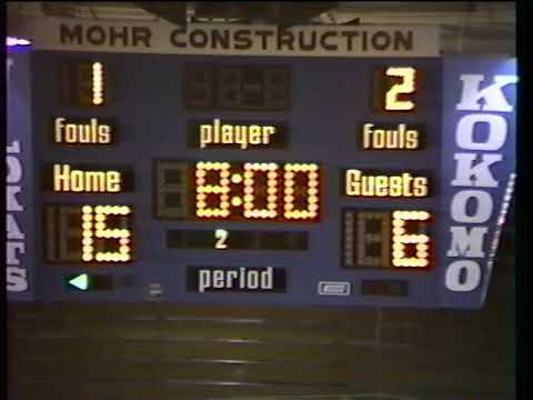Kokomo Boys Basketball vs Gary Wallace 1996-1997