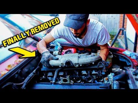 BMW E30 Intake Manifold Restoration   Project BMW E30 325i