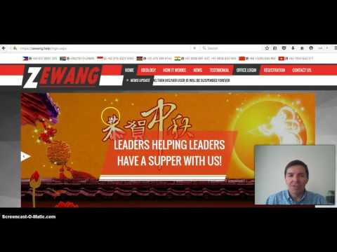 Zewang Help Review and First Bid Pipcoins or Provide Help by Colin Brazendale