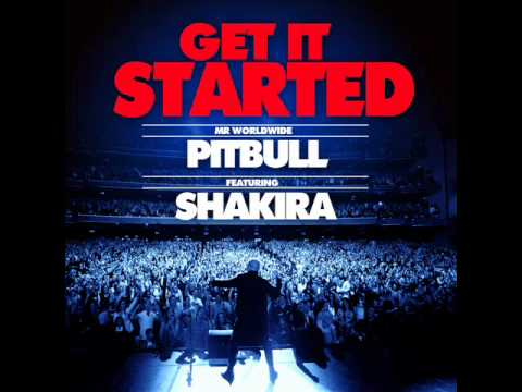 0 Pitbull feat Shakira   Get It Started (video, testo e traduzione)