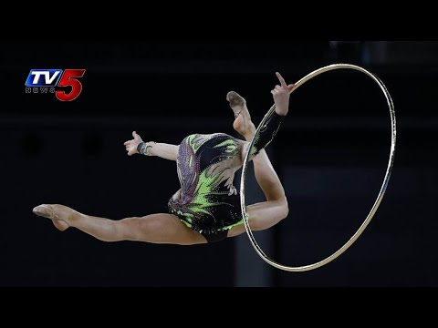 Englands Gymnastics Team win Gold In CWG 2014 : TV5 News