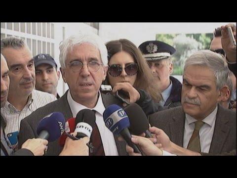 Μηνυτήρια αναφορά κατέθεσαν οι Ν. Παρασκευόπουλος, Ν. Τόσκας και Δ. Τσανακόπουλος
