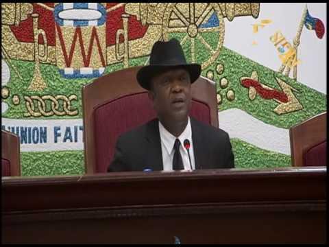 Parlement haïtien.- Ouverture de la 2e session ordinaire de l'année législative.