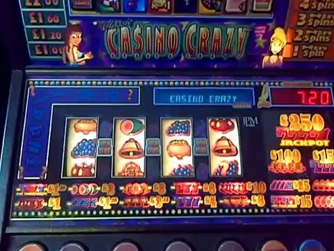 Casino Crazy fruit machine….WIN SPINS and More WIN SPINS !!!