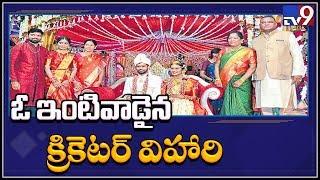 Cricketer Hanuma Vihari married to fashion designer Preeti