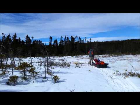 Wall Tent Winter Camping Part:  1