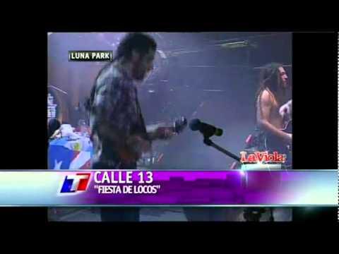 Calle 13 @ Luna Park 2011 - Calma Pueblo/Electro Movimiento/Fiesta de Locos (видео)