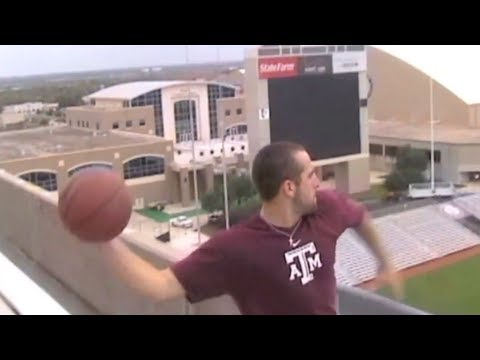 World&rsquo;s Longest Basketball Shot