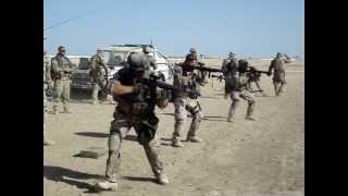 Deling træner i Camp Bastion før indsættelse hold4