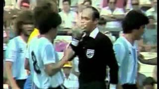 Daniel Passarella bei der Weltmeisterschaft 1982 in Spanien