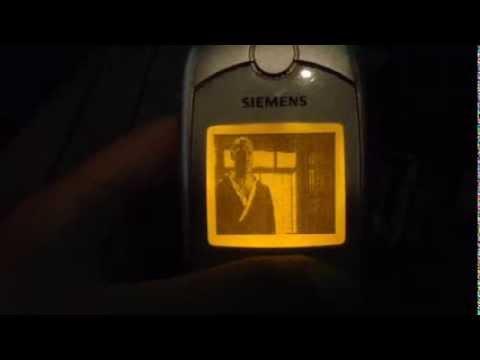 Xem phim trên điện thoại trắng đen - Siemens SL45
