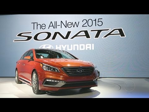 Auto - FOR MORE AUTO SHOW VIDEOS & NEWS VISIT: http://www.kbb.com/car-news/all-the-latest/new-york-auto-show/14111/ Kelley Blue Book coverage of the 2015 Hyundai So...