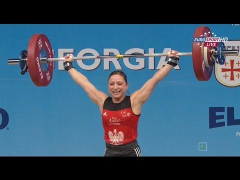 Чемпионат Европы 2015. Женщины в.к.  до 58 кг.