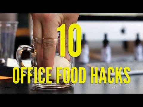 10 Office Food Hacks
