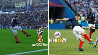 Video Recreación MEJORES GOLES DEL MUNDIAL RUSIA 2018 EN FIFA MP3, 3GP, MP4, WEBM, AVI, FLV Oktober 2018
