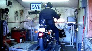 5. 2001 FXD SuperGlide on dyno