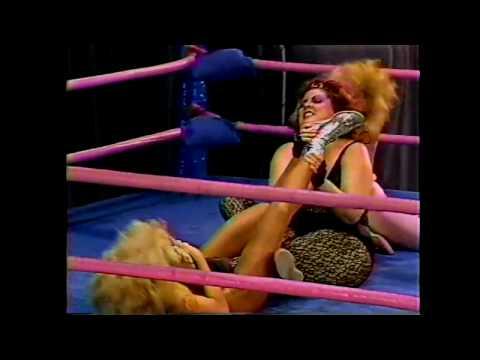 GLOW Wrestling California Doll Tara Matilda the Hun 1986
