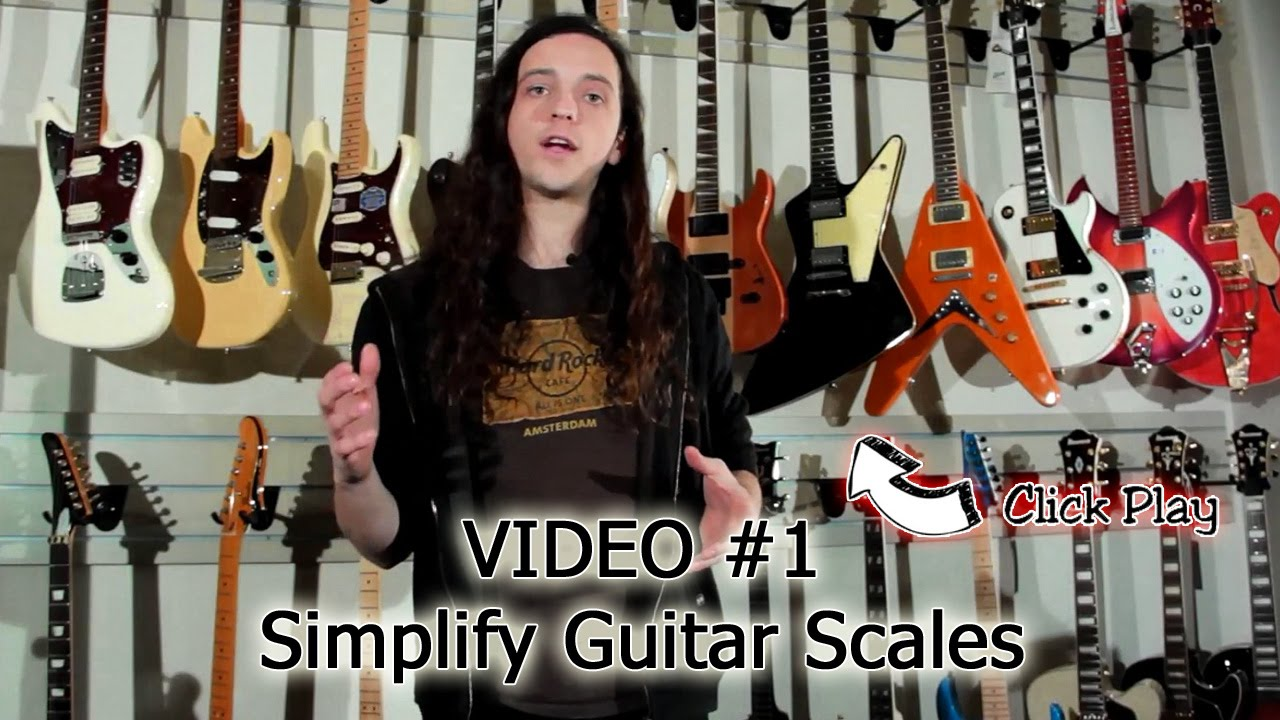 Guitar Scales & Technique Lesson Series – Video 1