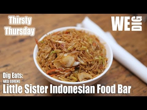Thirsty Thursday - Little Sister Indonesian Food Bar