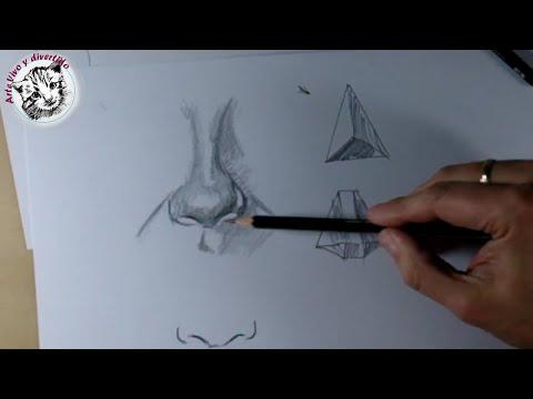 Como dibujar bien una nariz como dibujar y pintar bien - Como pintarse bien ...