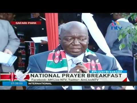 'Maize importers' came to pray at the prayer breakfast - Jakoyo Midiwo