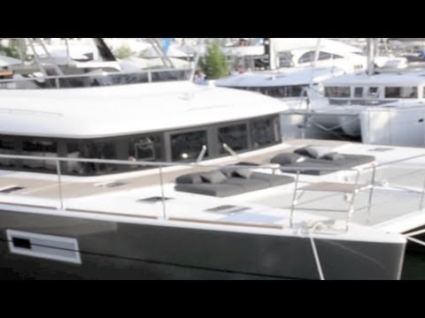 VIDEO: Lagoon 630 from Cannes Boat Show