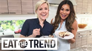 Chocolate Orzo Flan With Hannah Hart | Eat the Trend by POPSUGAR Food