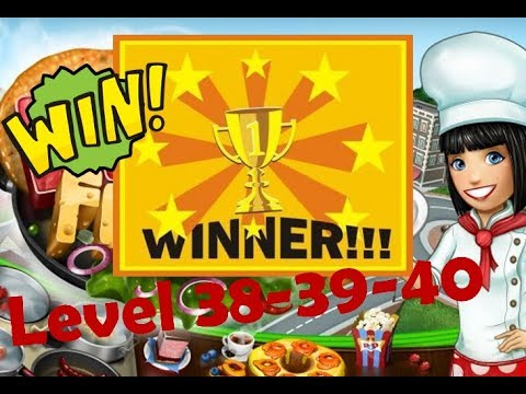 Cooking Fever LAST LEVELS #38-39-40 - GOOD JOB! - Cooking Games - Fun Video Games For Kids