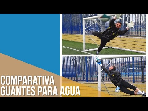 TEST Palmas Para Agua. Uhlsport Aquasoft Vs SP Aqualove