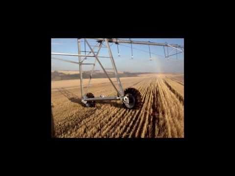 Pivô central - Montagem e teste de irrigação no Oeste do Paraná