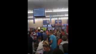 Barbourville (KY) United States  city photo : Black friday 2012 at Walmart
