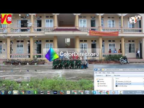[Đông Tony] Hướng dẫn cài phần mềm CyberLink ColorDirector Ultra full 2015