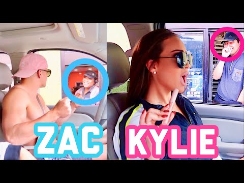 Going Through Drive Thru's Dressed As Celebrities Challenge!!