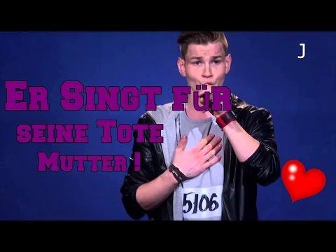 ER SINGT FÜR SEINE TOTE MUTTER ❤ (видео)