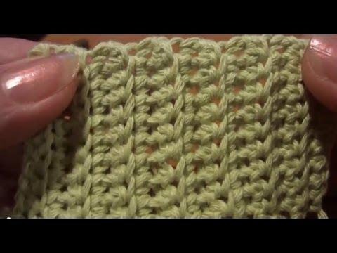 Вязание за задние стенки