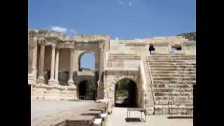 Beit Shean Israel  City pictures : גן לאומי בית שאן Beit She'an Bet She'an National Park Where an earthquake stopped time