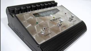 Hughes & Kettner Tubeman 2  : http://amzn.to/2tAG4uCProfessional tube driven distortion pedal and recording station .