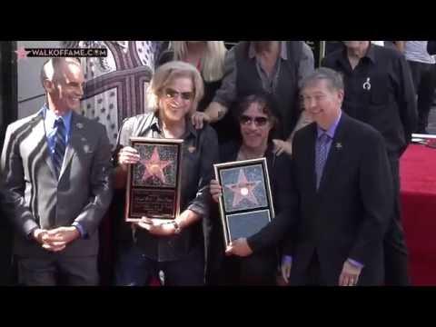 Daryl Hall & John Oates Walk of Fame Ceremony